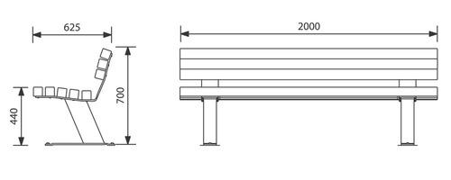 JBC-0035 - Banc Valencay