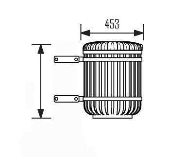 JBC-0046 - Corbeille Monceau 38 L avec colliers