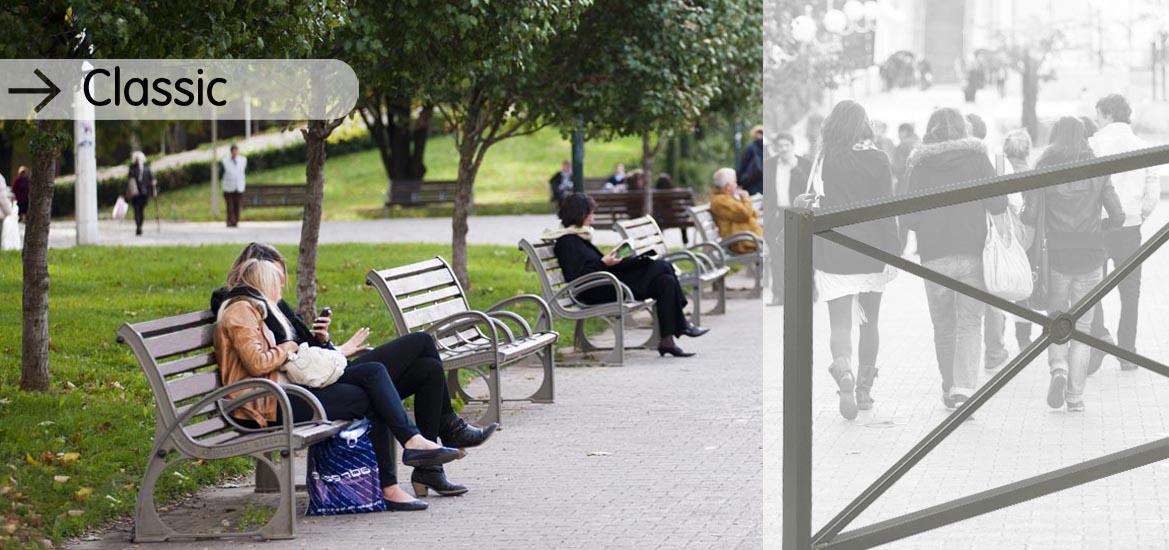 Le mobilier urbain pour valoriser l 39 espace public husson for Mobilier urbain espace public