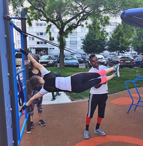 street workout fitness